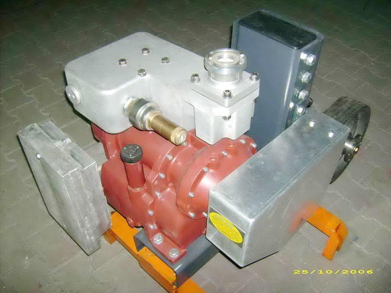 compressore aria per cisterna semirimorchio CG80 GHH RAND Light