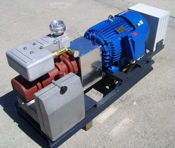 compressore aria per cisterna semirimorchio CG80 GHH RAND z silnikiem elektrycznym
