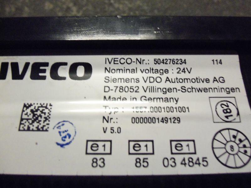 cruscotto  IVECO EURO5 instrument panel cluster 504276234, 504226363, 504025358, 504156164, 504156187 per trattore stradale IVECO Stralis