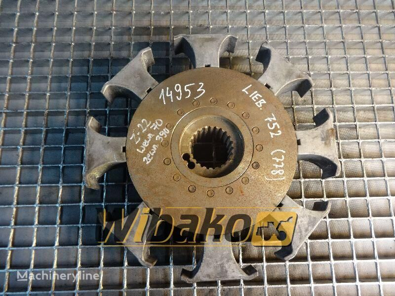 disco frizione  Coupling Liebherr 752 per altre macchine edili 752 (22/70/390)