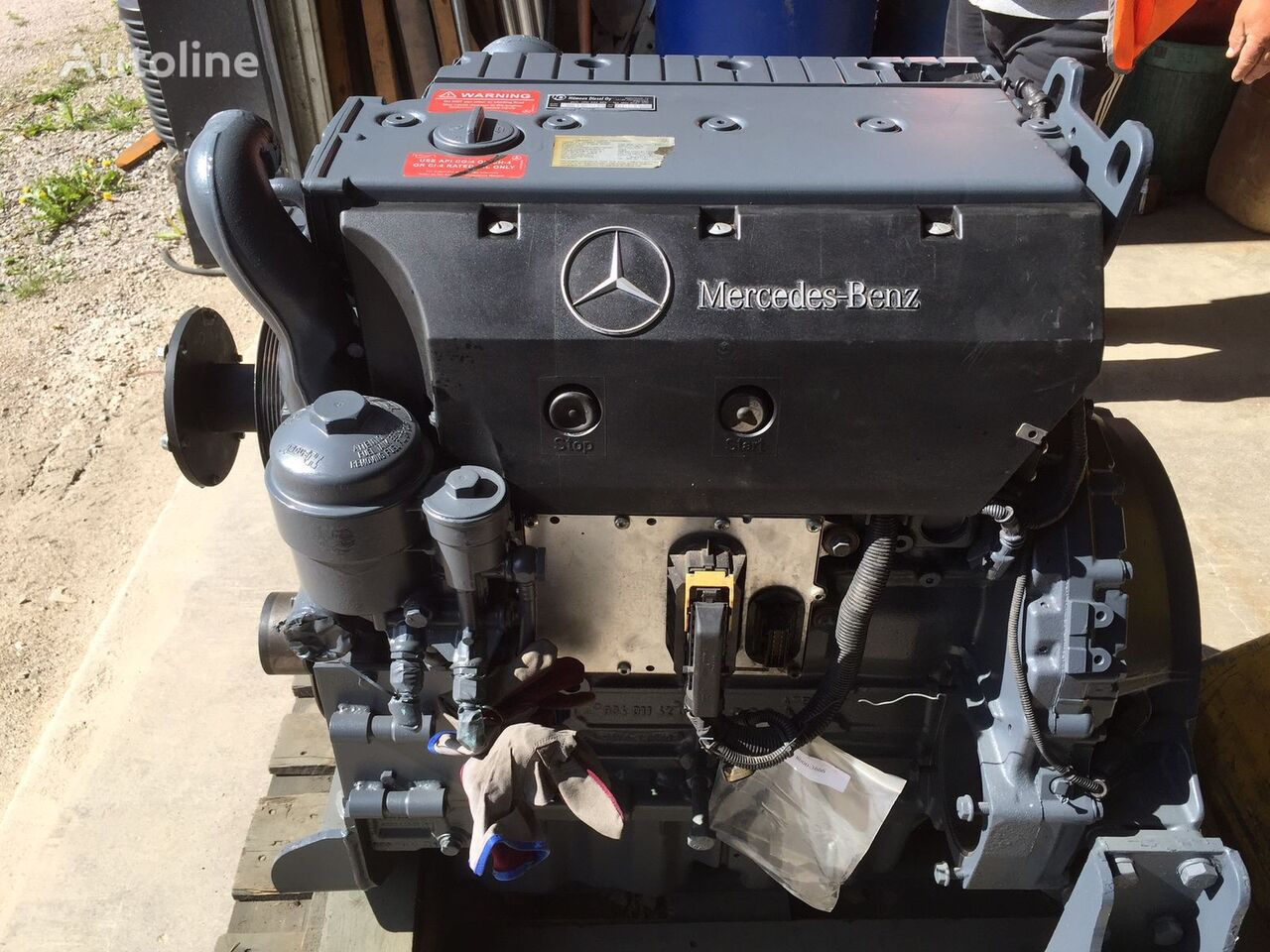 motore  Mercedes Benz OM904 LA refurbished per camion