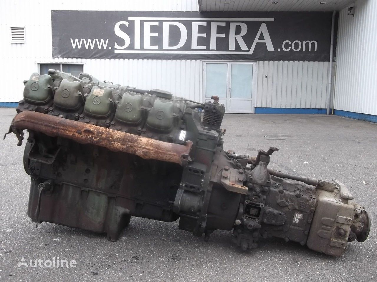 motore per camion MERCEDES-BENZ OM 403 Engine V10 + ZF Gearbox,10 pieces in stock