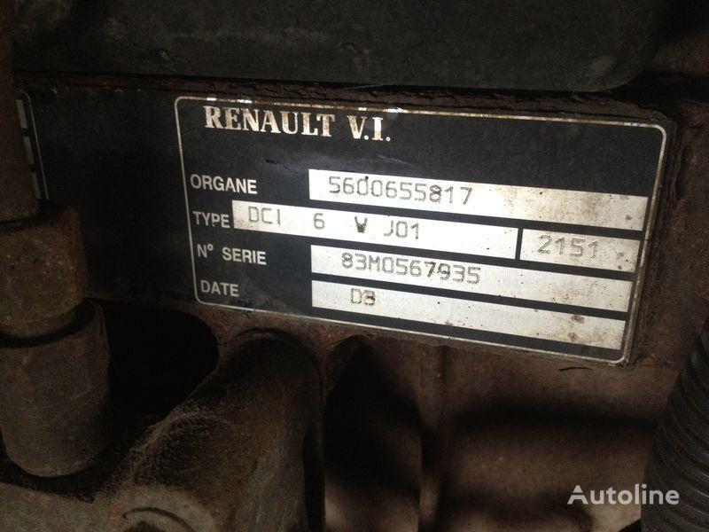 motore  Renault dci 6v j01 per camion RENAULT 220.250.270