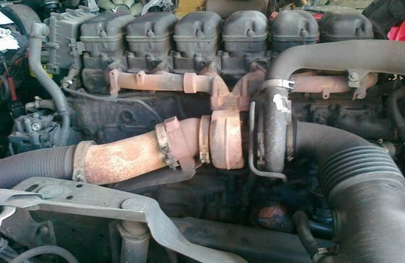 motore  DC12 per camion SCANIA
