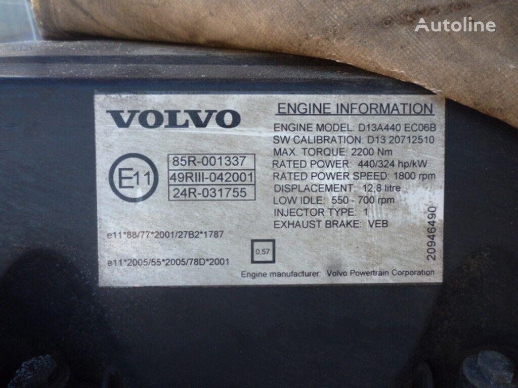 motore  Volvo D13A440 ECO6B per camion VOLVO