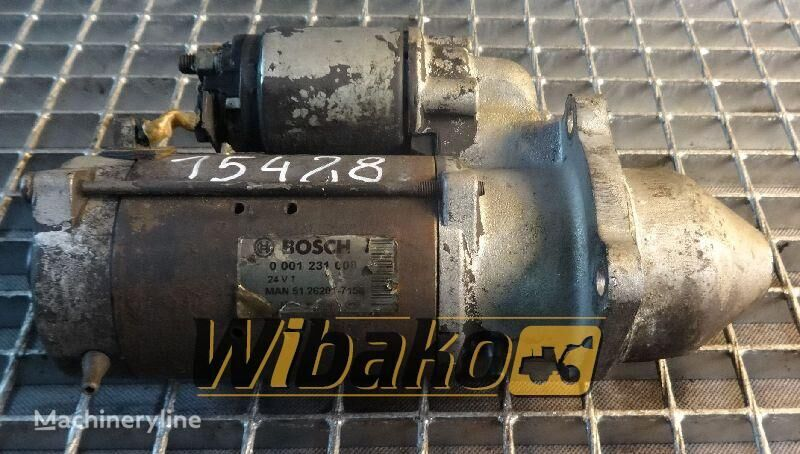 motorino d'avviamento  Starter Bosch 0001231008 per altre macchine edili 0001231008