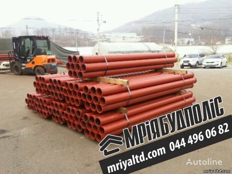 pezzi di ricambi  Truby (stalnoy betonovod) Truby dlya podachi betona, dlya betononasosa per pompa per calcestruzzo nuova