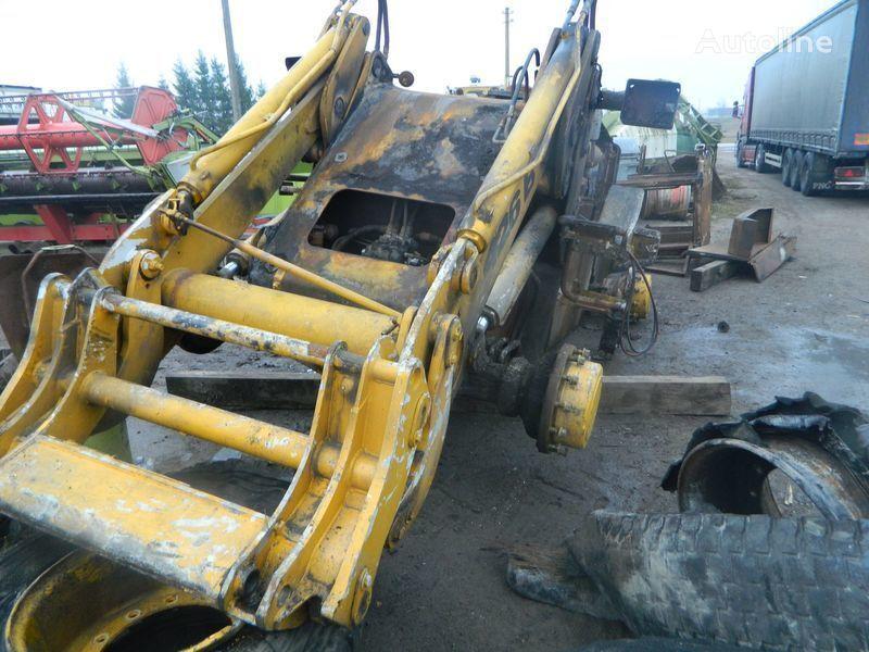 pezzi di ricambi  B/U ZAPChASTI/ used spare parts per pala gommata JCB 426 incidentati