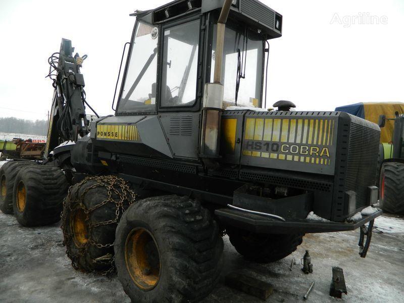 pezzi di ricambi  b/u zapchasti/ used spare parts per abbattitrice forestale PONSSE COBRA HS10