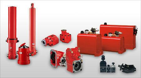 pompa idraulica  Binotto per camion nuova