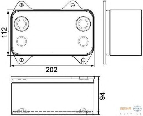 radiatore di raffreddamento motore  DAF 1667565.8MO376733421 per trattore stradale DAF XF.CF nuovo