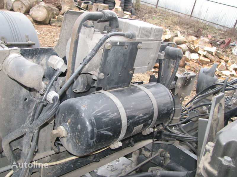 riscaldatore autonomo per trattore stradale DAF