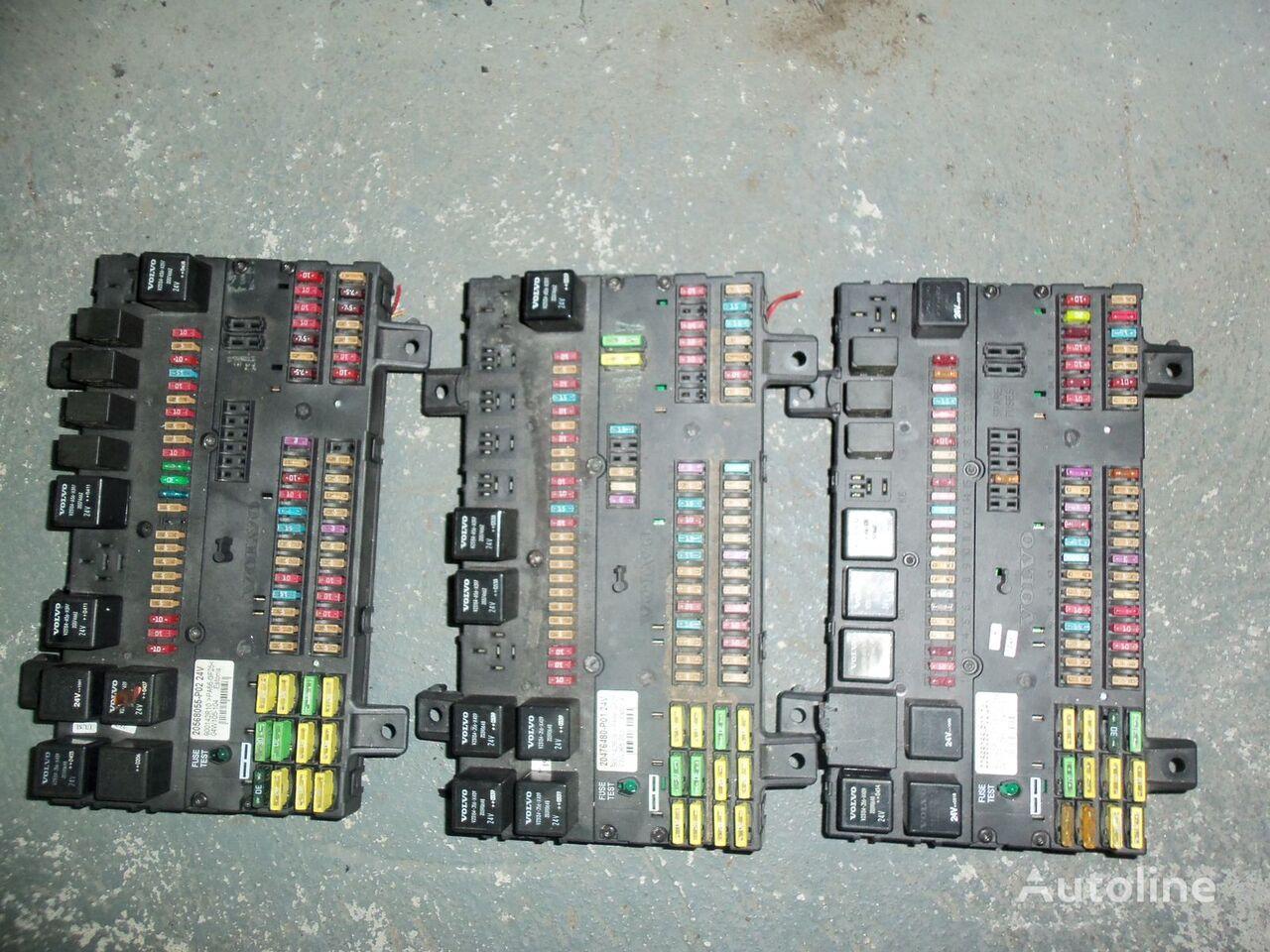 scatola dei fusibili  VOLVO FH13 fuse and relay center, central electrical box 20568055, 21732199 per trattore stradale VOLVO FH13