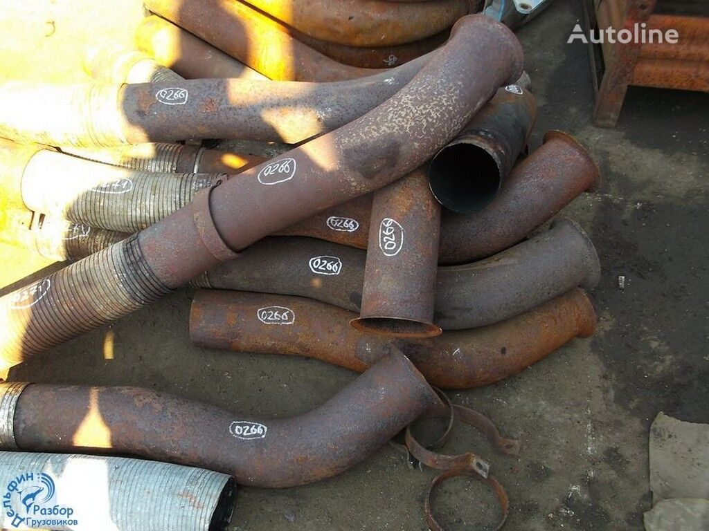 tubo di scappamento  Truba glushitelya s turbiny per camion
