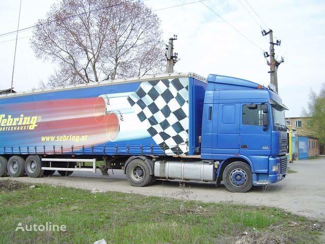 visiera parasole per camion DAF XF95 nuova