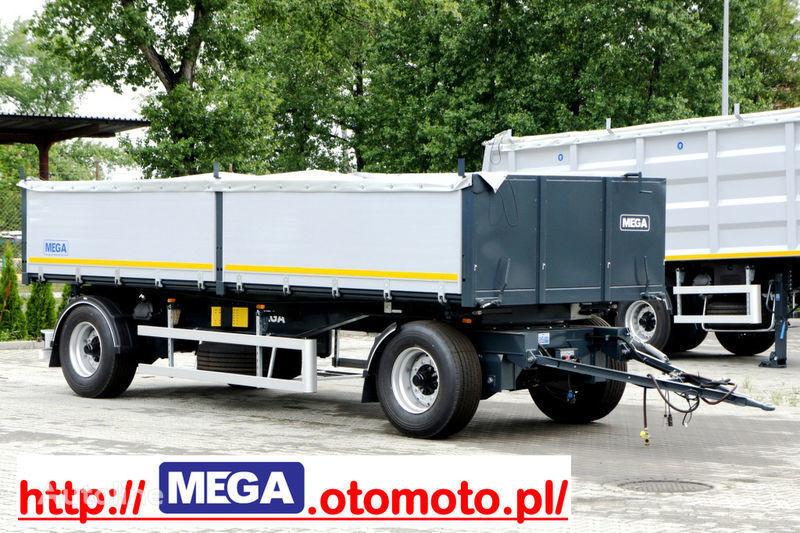 rimorchio ribaltabile MEGA 3 x way dump / 2 axel / alu bort / grainhole nuovo