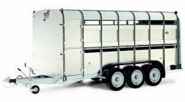 rimorchio trasporto bestiame IFOR Williams TA510T