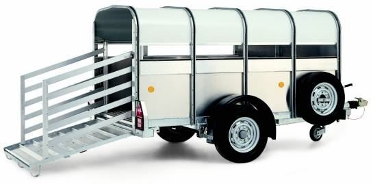 rimorchio trasporto bestiame WILLIAMS P8