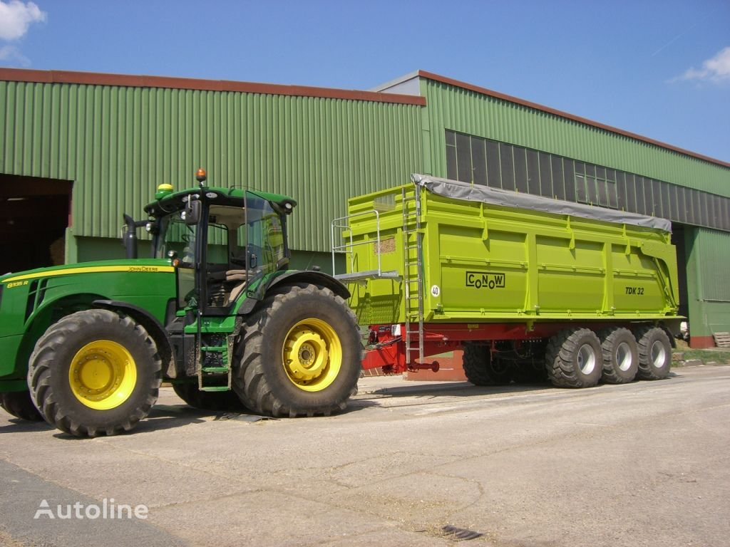rimorchio trasporto cereali CONOW TDK 32 nuovo