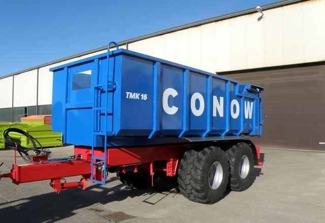rimorchio trasporto cereali CONOW Tandem-Dreiseitenkipper (TMK 16) nuovo