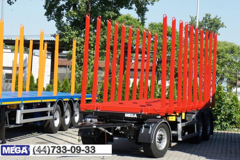 rimorchio trasporto legname MEGA 10 stanchions