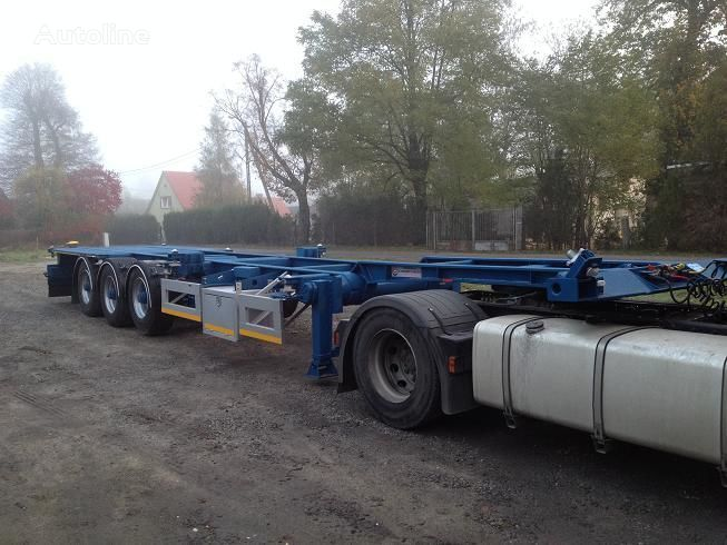semirimorchio portacontainer 20FT,2 X 20FT,30FT,40FT,