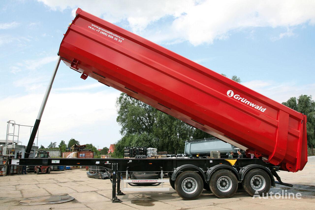 semirimorchio ribaltabile GRUNWALD Tipper semitrailer 50 cbm nuovo