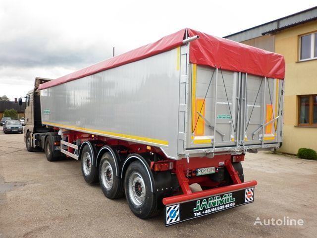 semirimorchio ribaltabile JANMIL 50 cbm ALU, SAF -LIGHT 5800 kg !!! nuovo