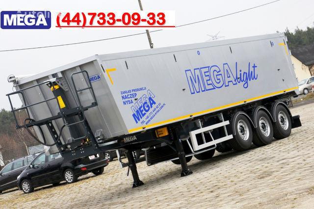 semirimorchio ribaltabile KARGOMIL 50 - 42 m³ SUPER LIGHT alu tipper 5,9T- READY TO TAKE !!! nuovo