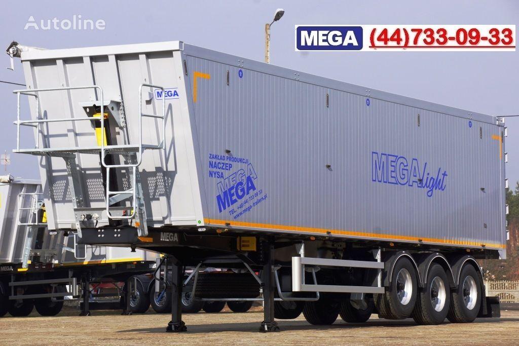 semirimorchio ribaltabile MEGA 10,4 m / 55 M³ ALUM TIPPER