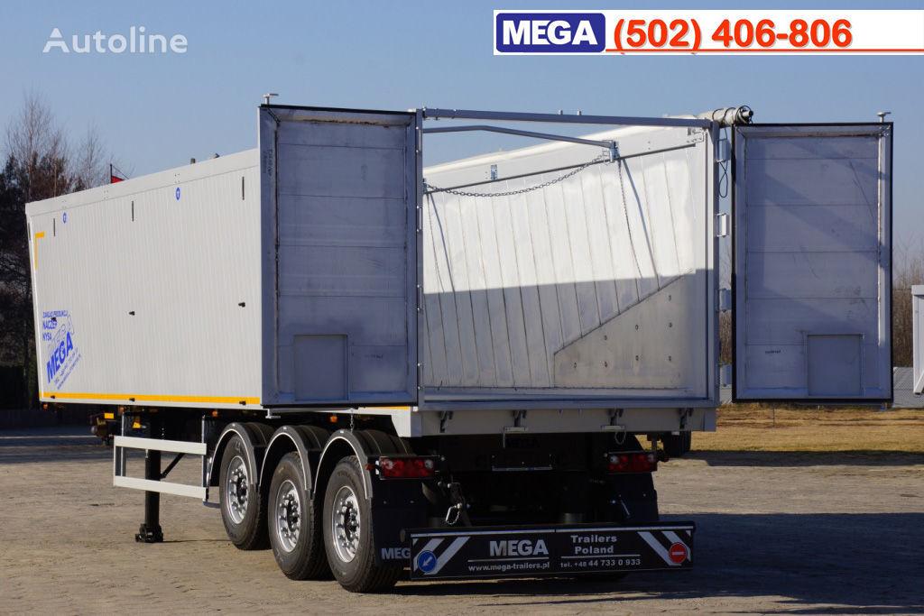 semirimorchio ribaltabile MEGA 10,4 m / 55 M³ ALUM TIPPER SUPER LIGHT 6,2 T ! BRAND NEW ! nuovo
