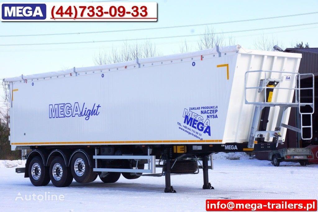 semirimorchio ribaltabile MEGA 10,4 m / 60 M³ ALUM TIPPER SUPER LIGHT 6,2 T ! READY & NEW ! nuovo