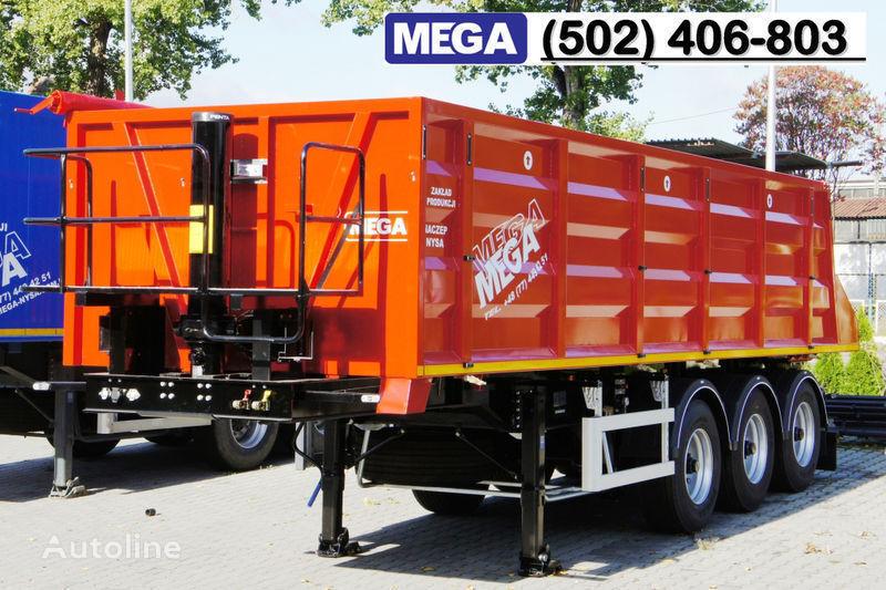semirimorchio ribaltabile MEGA 28/8360 kcc - camosval 30 kub.m., pama k tyagachu 6x4, klapan! nuovo