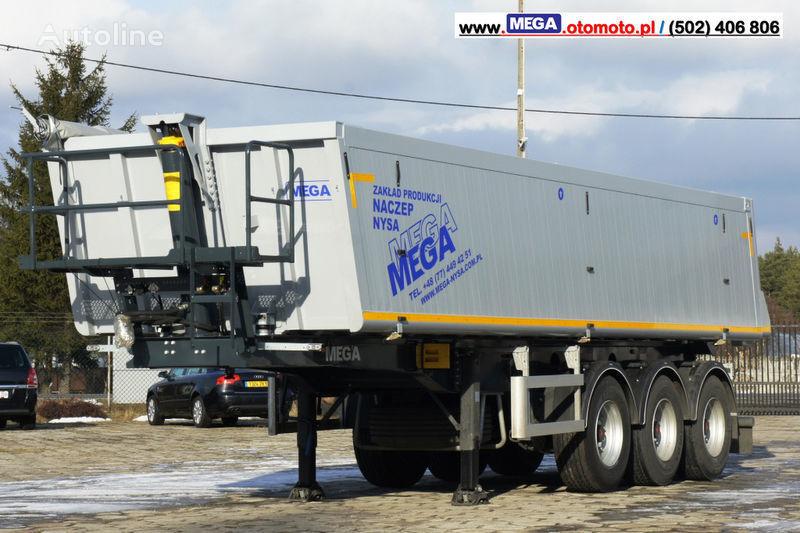 semirimorchio ribaltabile MEGA 30 m³ - SUPER LIGHT - 5,300 KG - SUPER PRICE !!! READY !!! nuovo