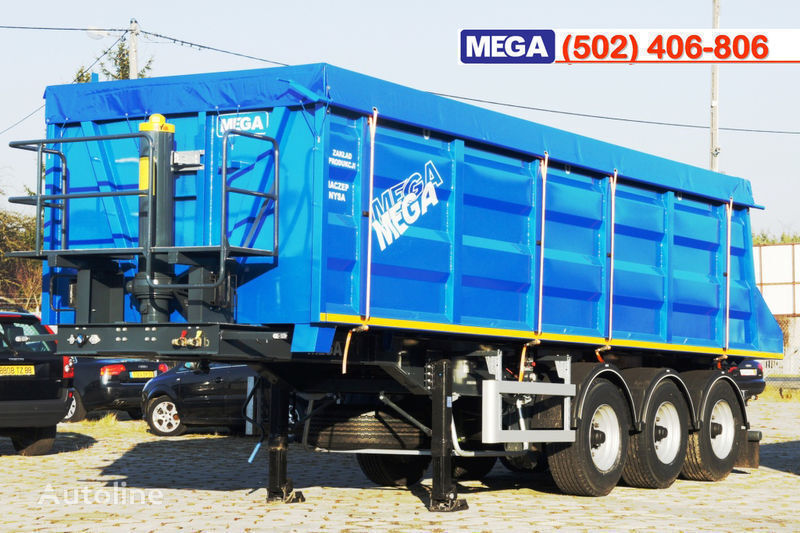 semirimorchio ribaltabile MEGA 35/9200 kcc - camosval 35 kub.m., pama k tyagachu 6x4, klapan! nuovo