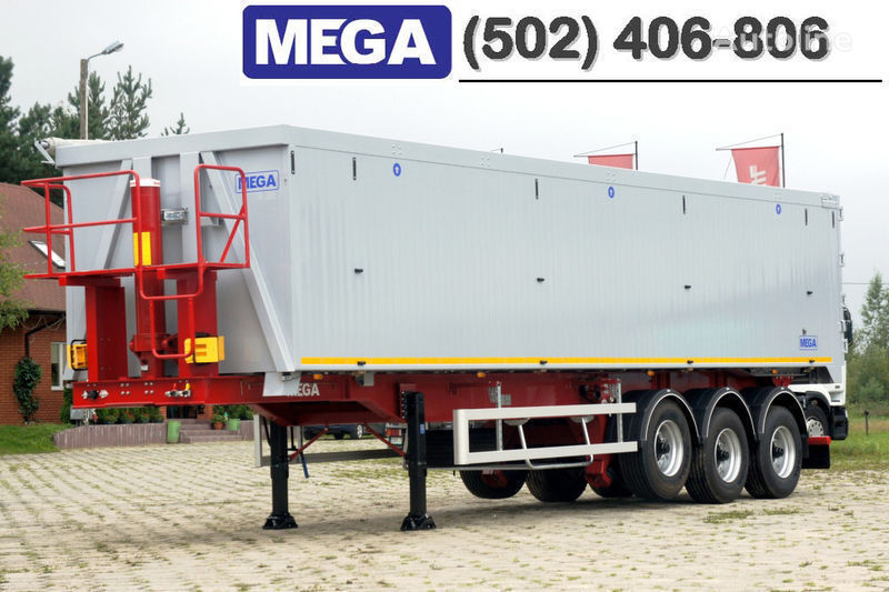 semirimorchio ribaltabile MEGA 50/11300 KD - camosval 50 kub., pama k tyagachu 6x4, VYSOTA 3,00 m nuovo