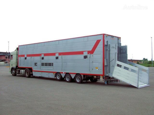 semirimorchio trasporto bestiame PEZZAIOLI SBA31 1+2 nuovo