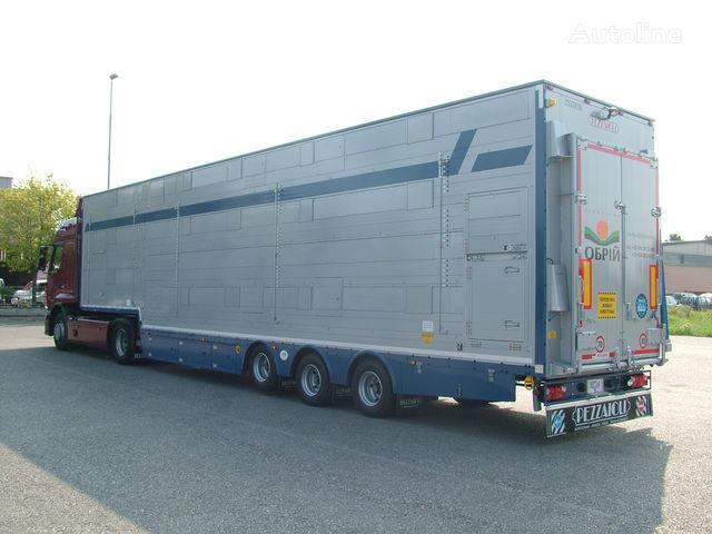 semirimorchio trasporto bestiame PEZZAIOLI SBA31  3+3 etazha zagruzki nuovo