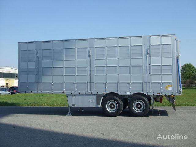 semirimorchio trasporto bestiame PEZZAIOLI SBA53 3 etazha zagruzki nuovo