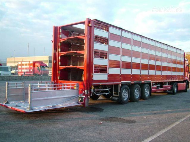 semirimorchio trasporto bestiame PEZZAIOLI SBA63