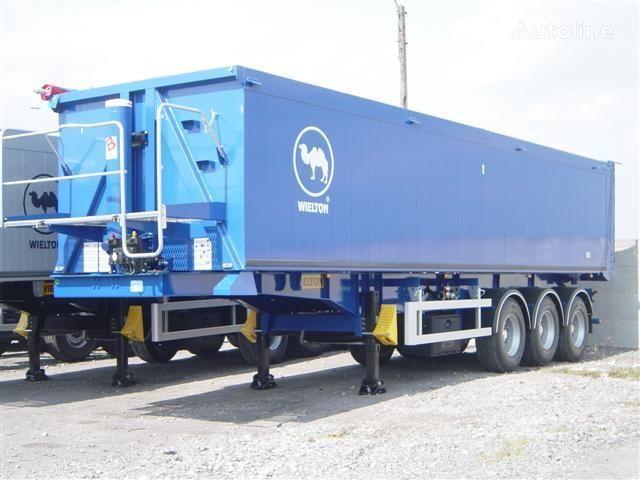 semirimorchio trasporto cereali WIELTON NW - 3 (50m3) nuovo