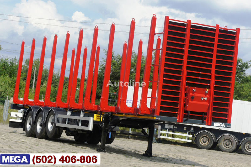 semirimorchio trasporto legname MEGA 2013 SALE !!! WOOD CARIER / 10 STANCHIONS