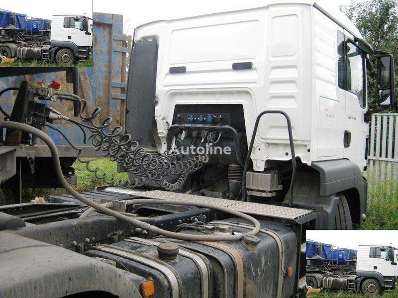 trattore stradale DAF SAMOSVALNAYa SISTEMA HYVA ( Gidravlika na tyagach )