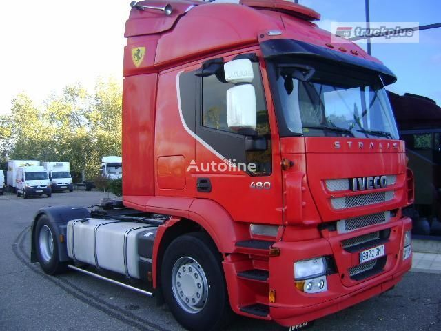 trattore stradale IVECO STRALIS AS 440S48