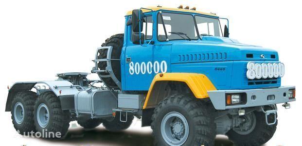 trattore stradale KRAZ 6446