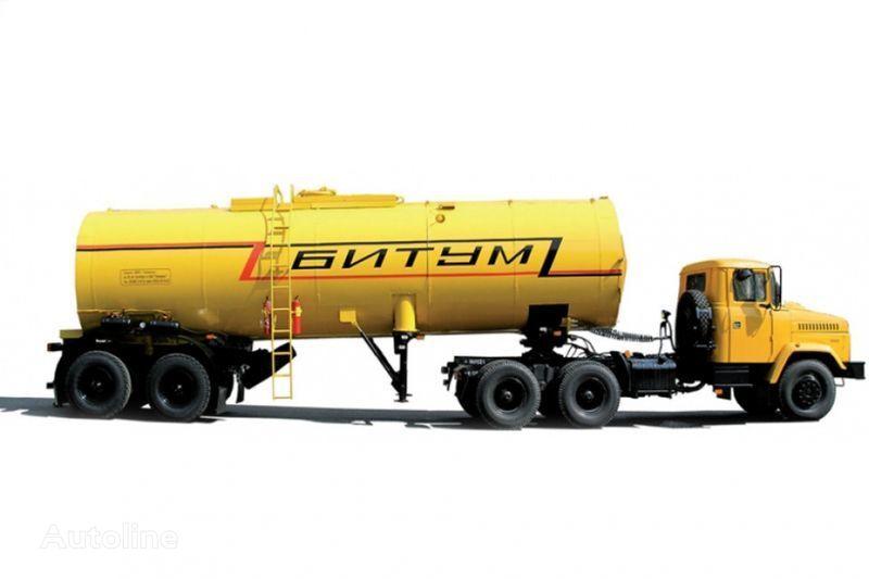 trattore stradale KRAZ Avtobitumovozy 63431 AB-22 i 6443 AB-30,5 + cisterna semirimorchio