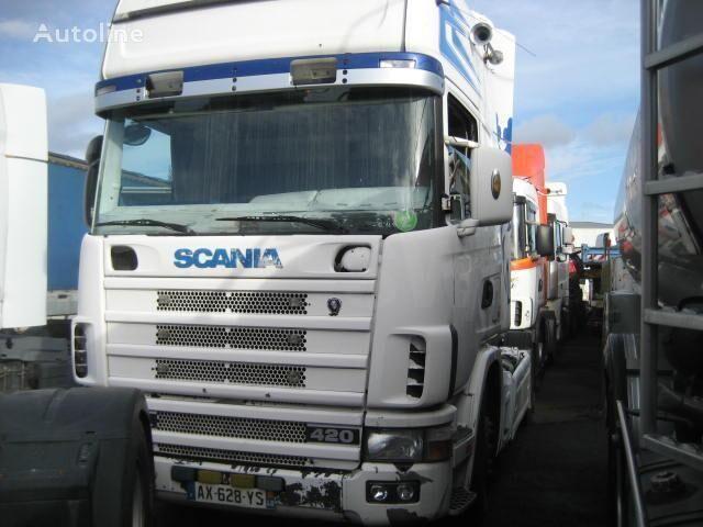 trattore stradale SCANIA L 124L420