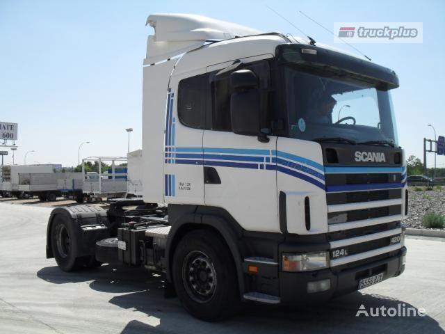 trattore stradale SCANIA R124 LA 420