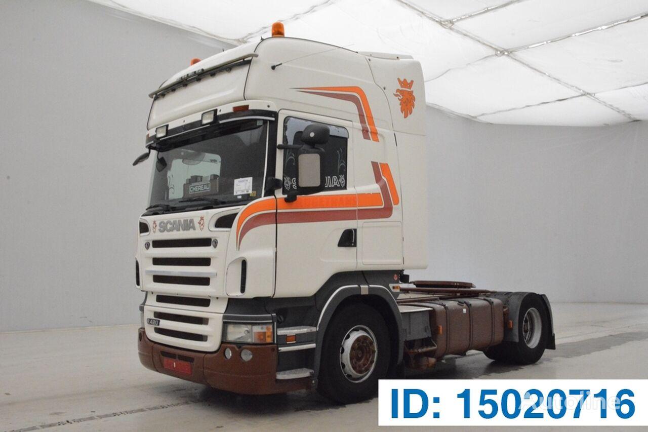 trattore stradale SCANIA R420 TOPLINE