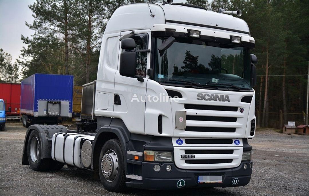 trattore stradale SCANIA R420 ZADBANA